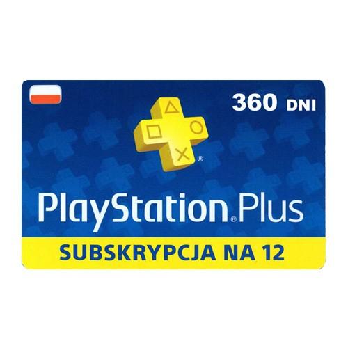 Playstation Plus 12 miesięcy w mediaexpert