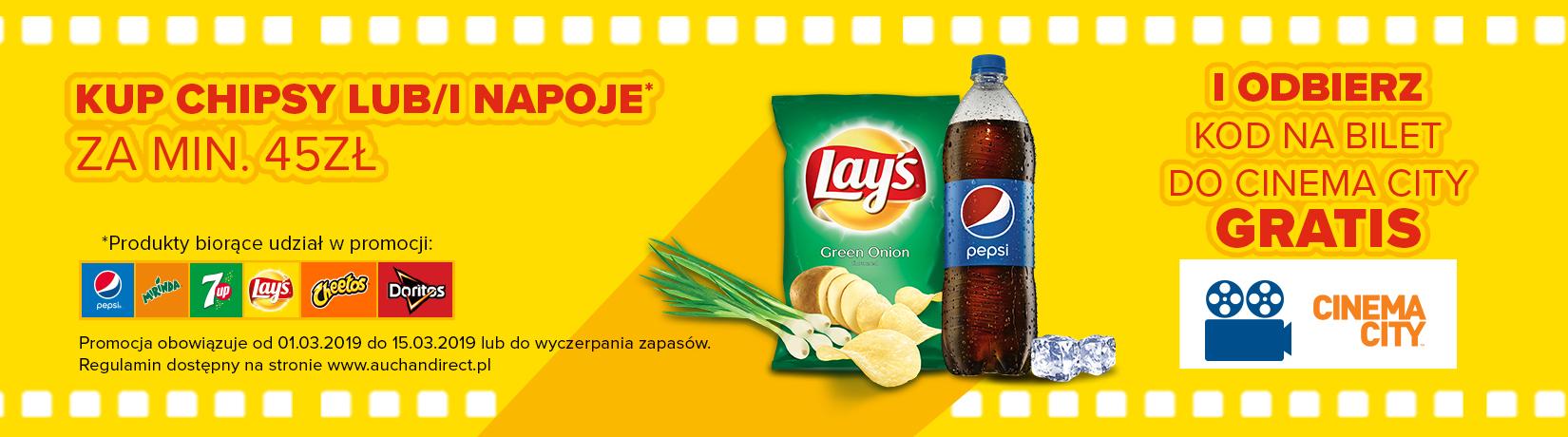 Kod na bezpłatną dostawę z Auchan Direct (MWZ 150)