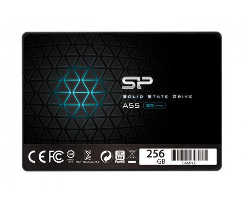 Silicon Power 256GB 2,5'' SATA SSD A55