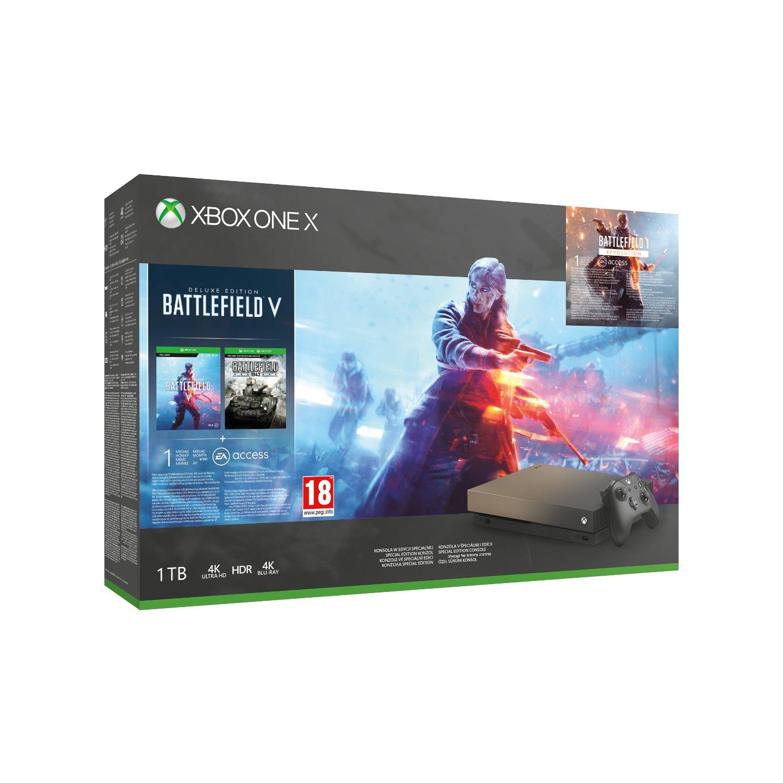 Xbox One X + BFV + Drugi pad