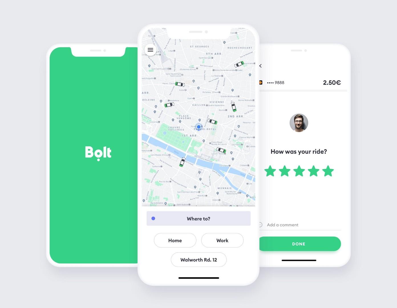 Bolt (Taxify) w Szczecinie - Promocja -50%
