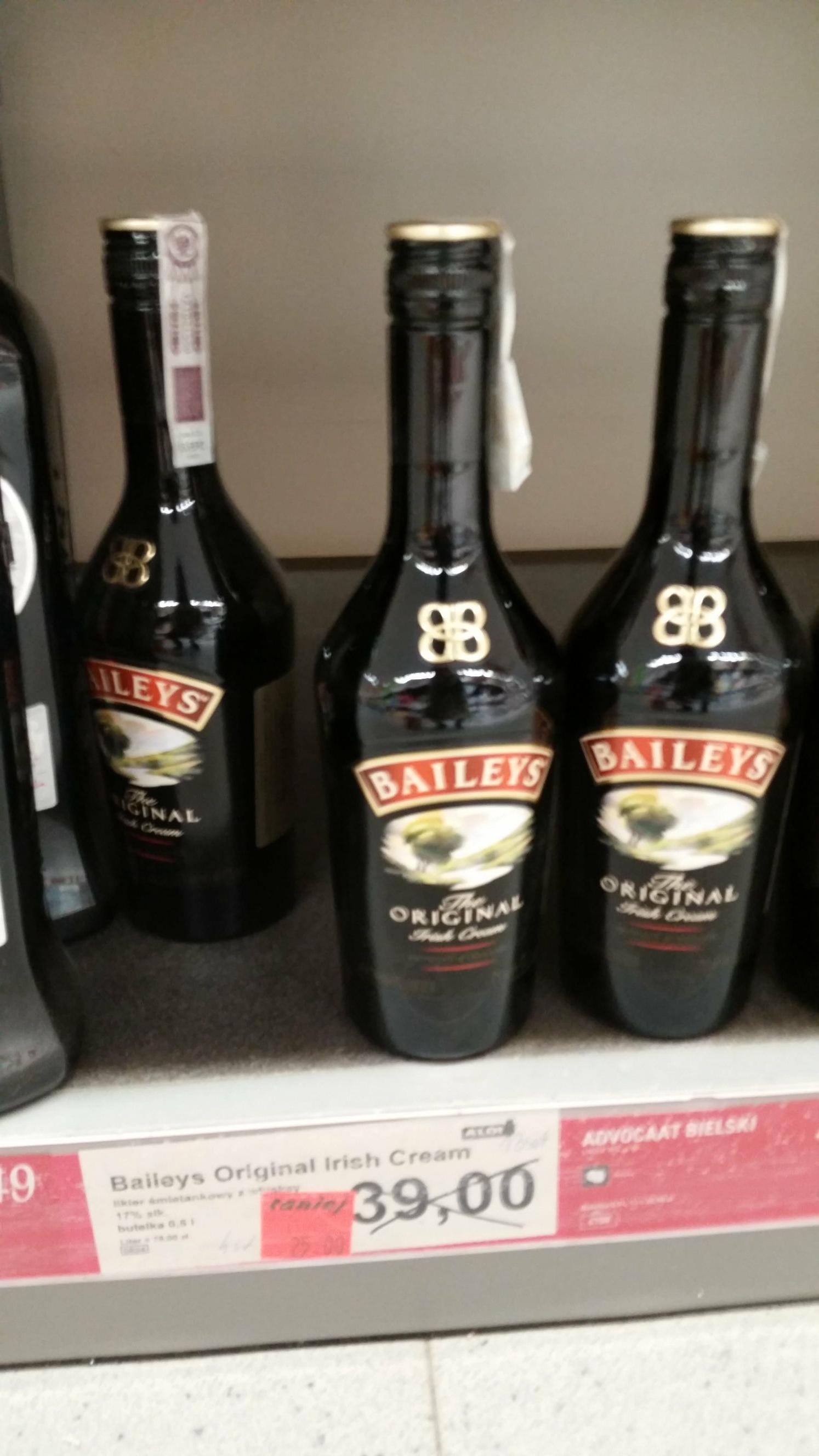 Likier Baileys 0,5l Aldi Gliwice