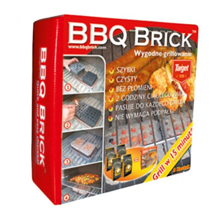 Brykiet BBQ Brick 8 kostek 4 kg za 12,90 zł @ PSB Mrówka