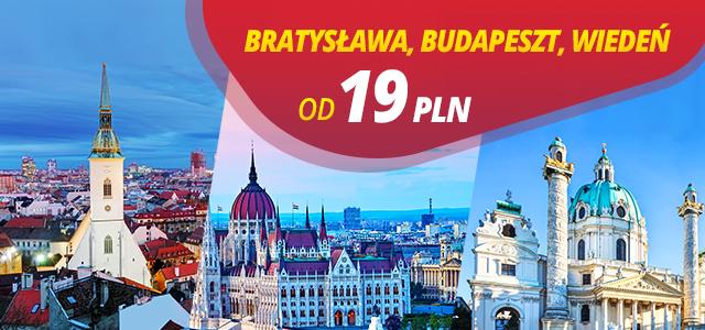 Kraków- Bratysława, Wiedeń, Budapeszt