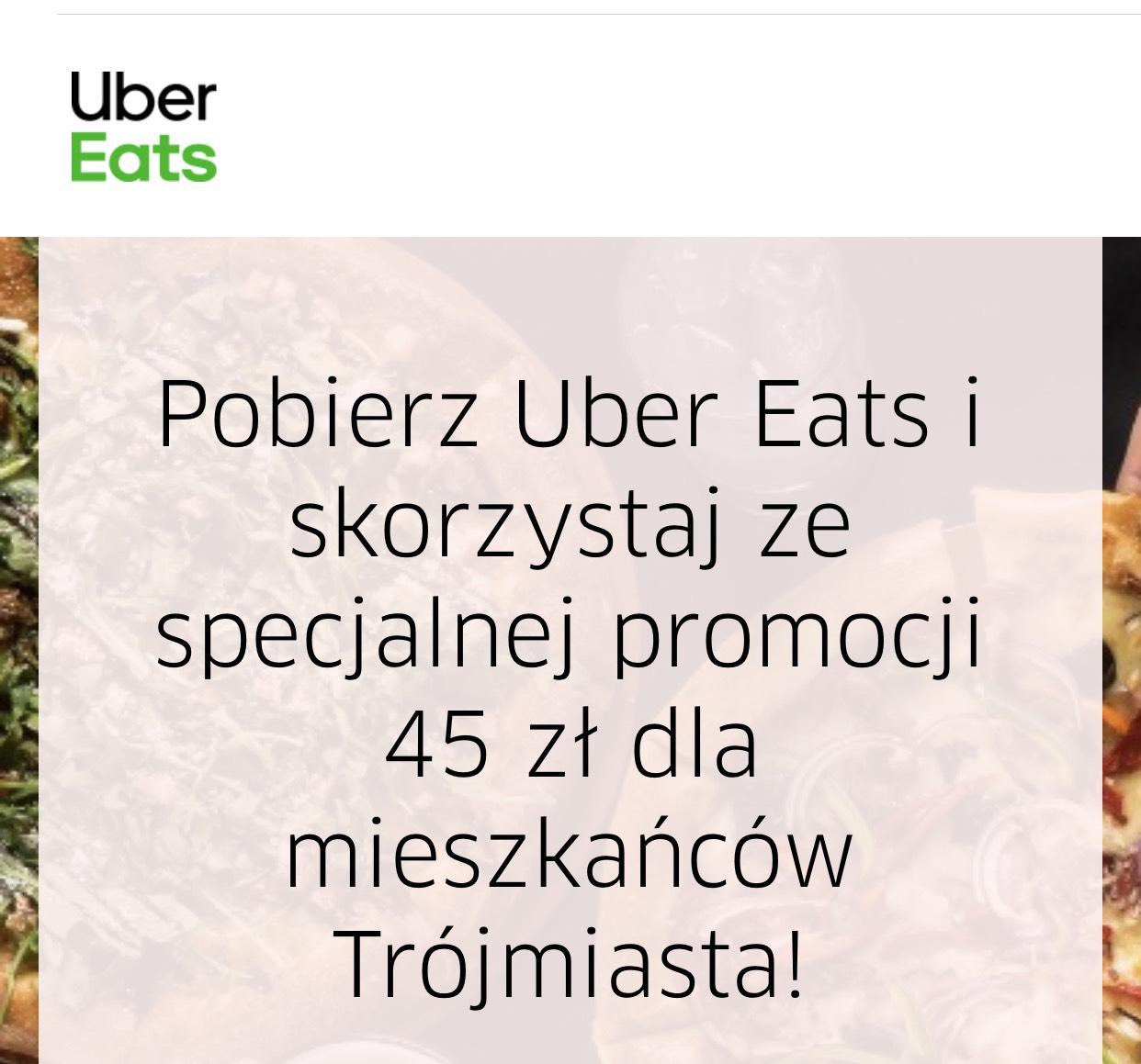 3x 15zl Uber Eats Gdynia