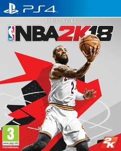 NBA 2k18 PS4 nowa