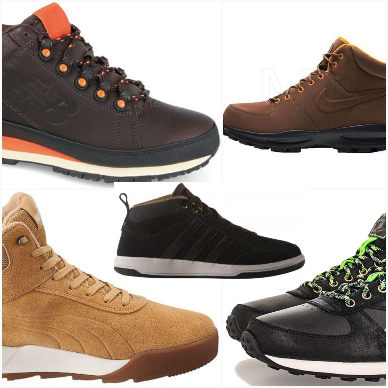 KOMPILACJA: buty średnio-wysokie. Męskie.  5 modeli.   Vol 1