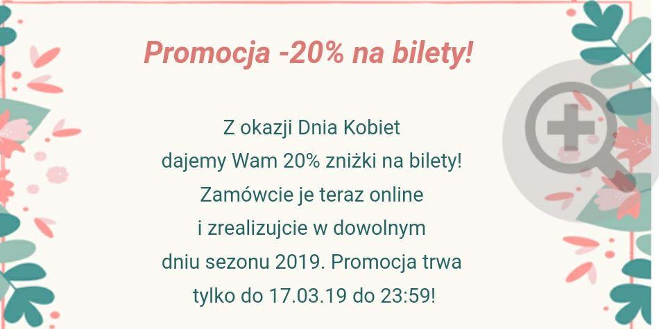 -20% na bilety do Magicznych Ogrodów