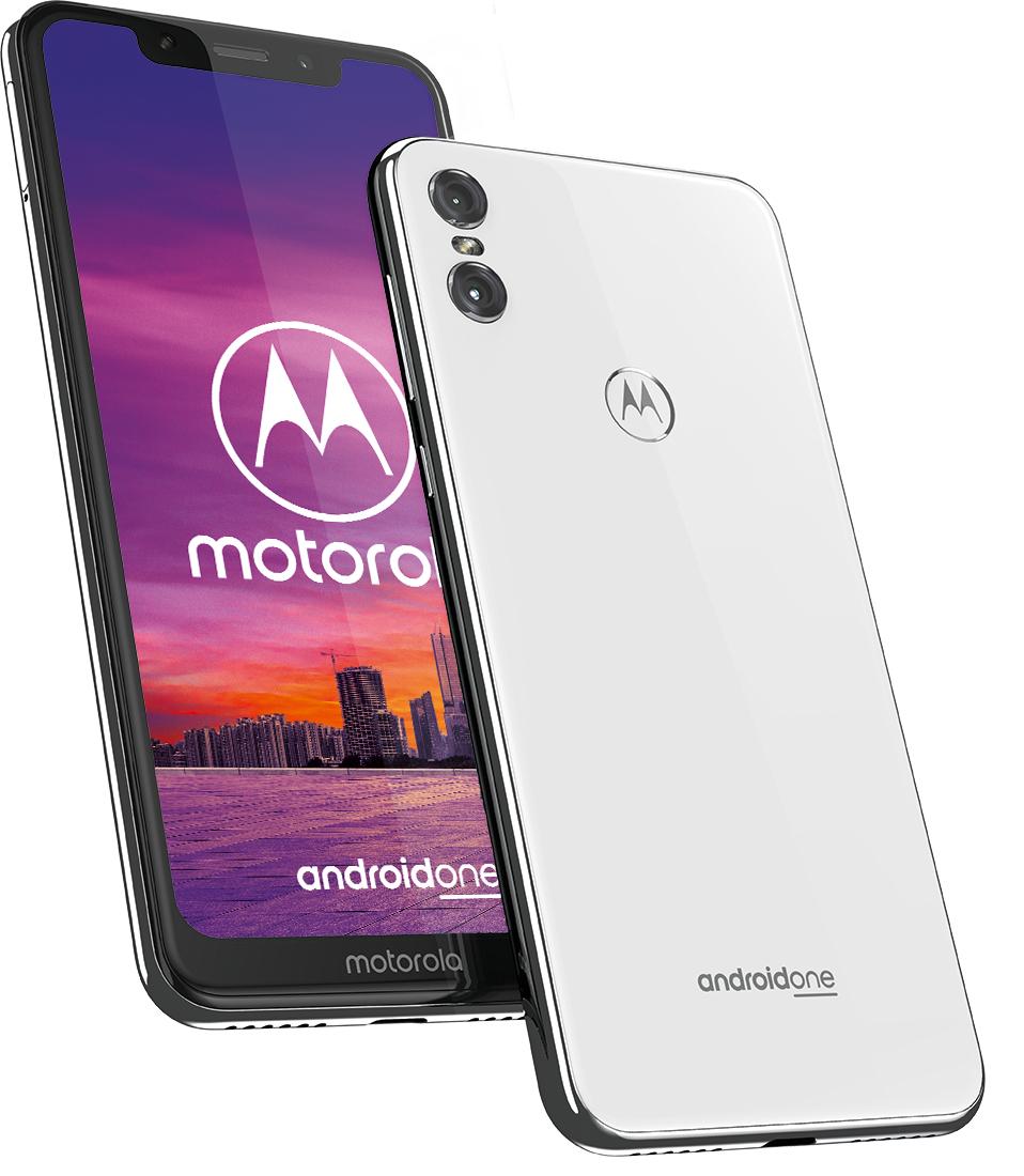 Motorola One z Play-a bez abonamentu - czarna i biała