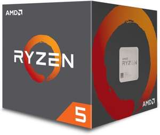 AMD RYZEN 5 2600  3.9GHz, 16MB, BOX