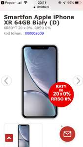 iPhone XR 64gb biały