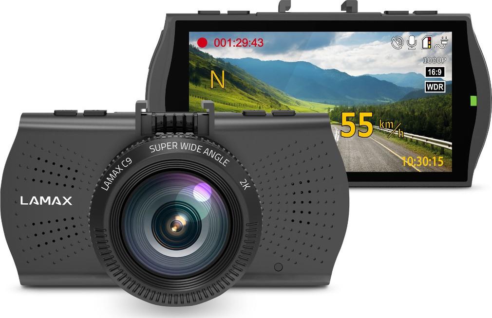 Kamera samochodowa, rejestrator jazdy LAMAX C9