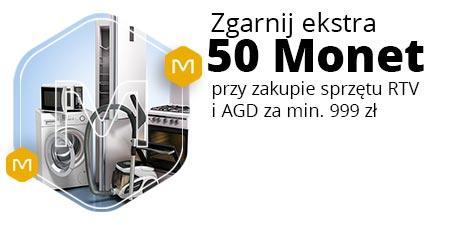 50 Monet za zakup sprzętu RTV i AGD @Allegro