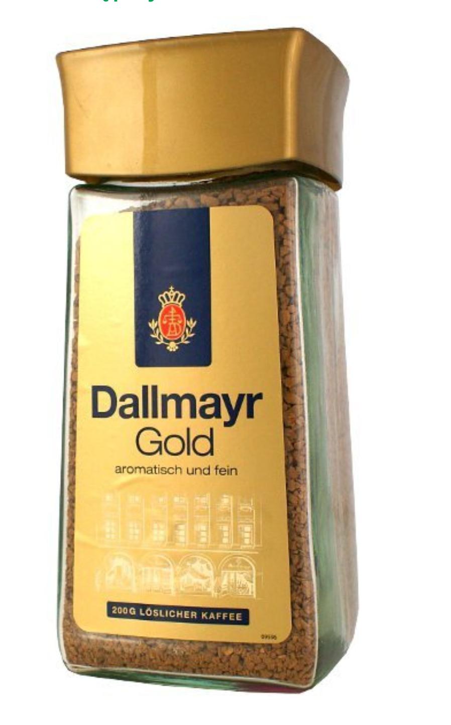 Dallmayr Gold 200g kawa rozpuszczalna w Tesco.