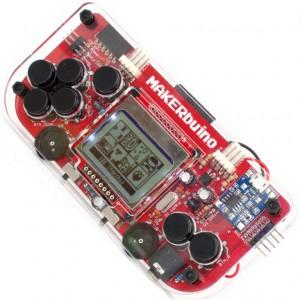 MAKERbuino przenośna konsola DIY - zestaw do samodzielnego złożenia + narzędzia