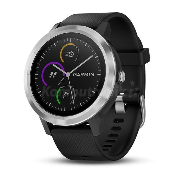 Garmin Vivoactive 3 czarno-stalowy lub biało-stalowy @Komputronik