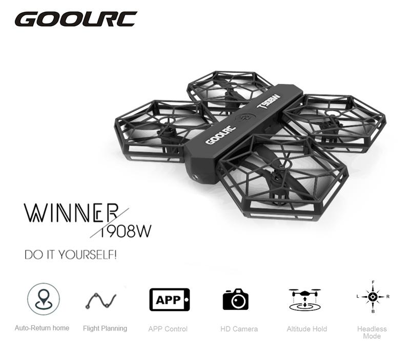 GoolRC T908W RC Quadcopter z kamerką