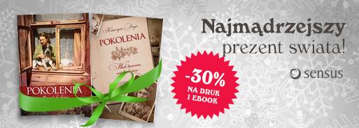 Świąteczne zestawy książkowe -30% @ Sensus