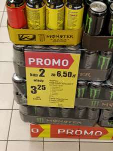 Monster Energy rozne smaki Intermarche