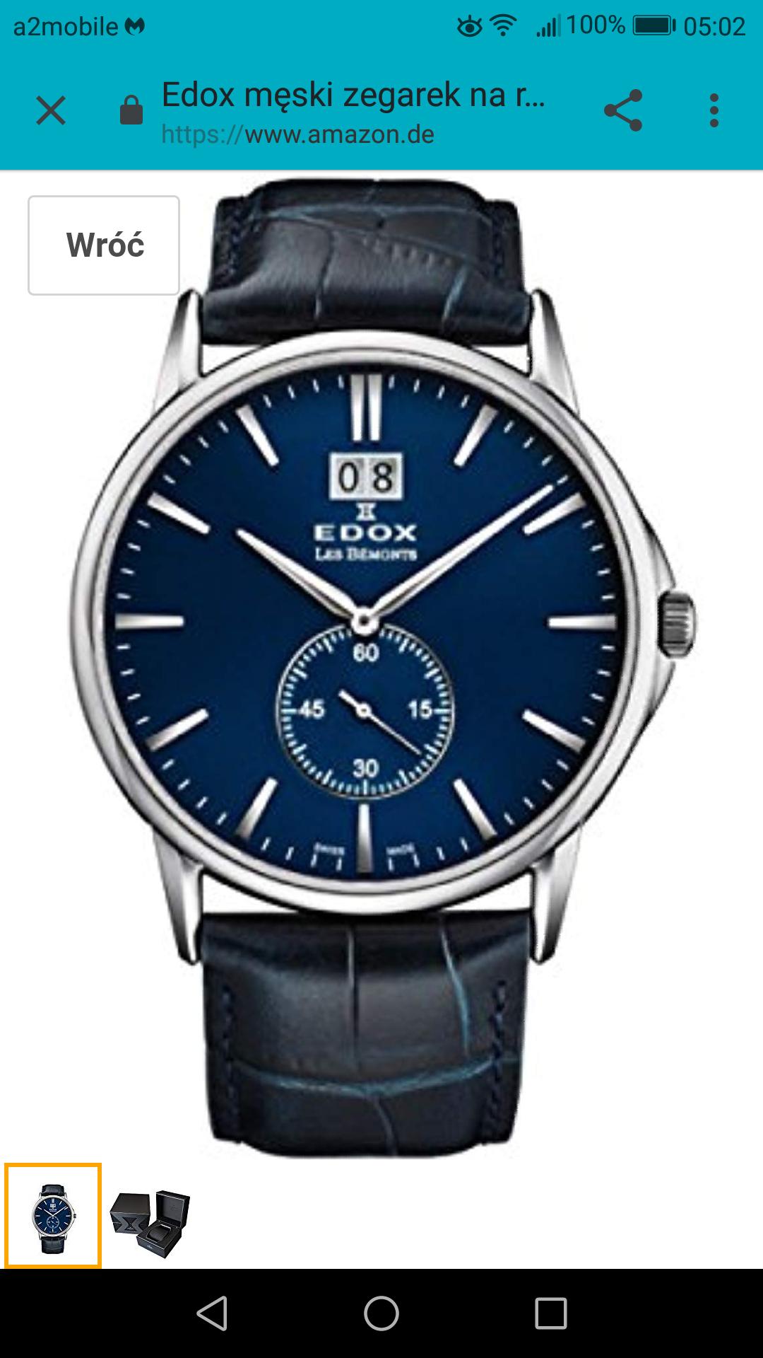 Zegarek Edox  64012