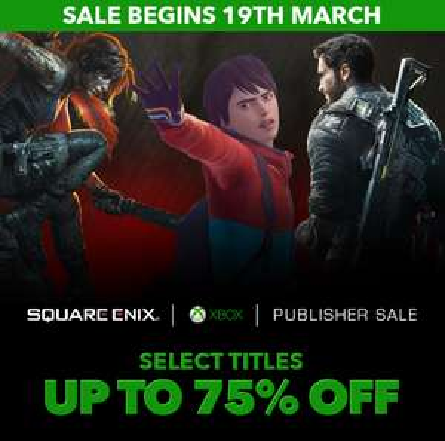 Wyprzedaż Square Enix dla XBOX: Lara Croft, Tomb Raider, Just Cause, Final Fantasy, Deus Ex, Life Is Strange i inne