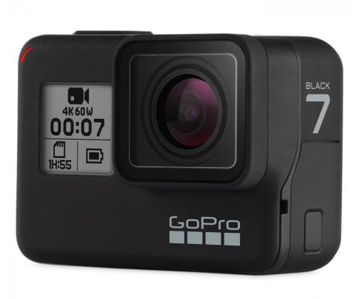 GoPro Hero7 Black + karta SanDisk 64GB microSDXC Extreme (z kodem)