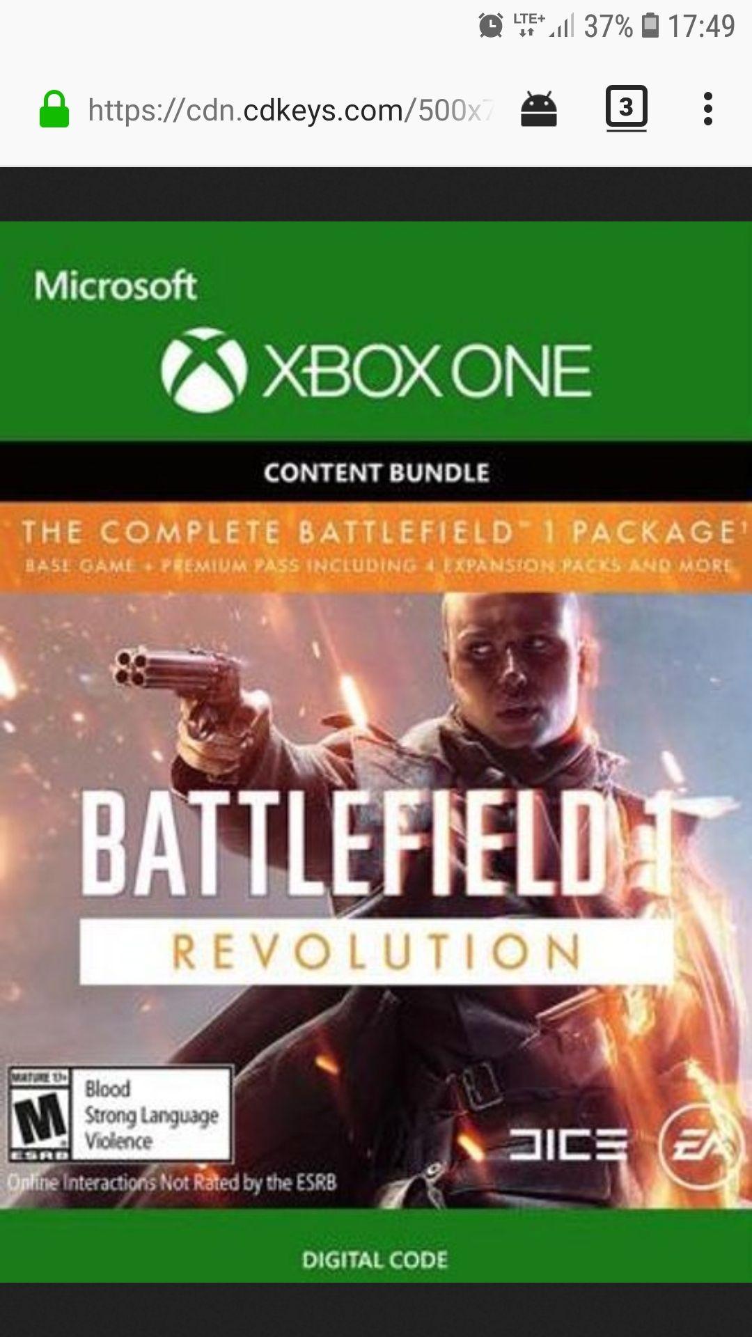Battlefield 1 Revolution + Battlefield 1943
