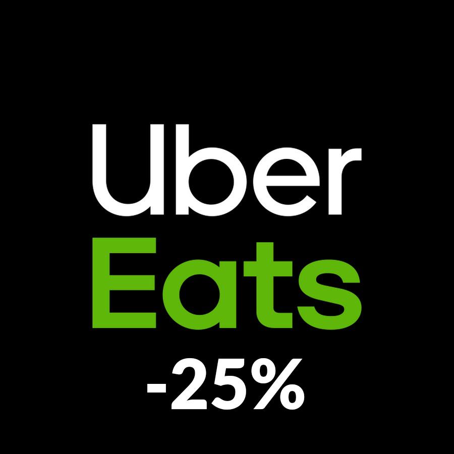 25% zniżki na zamówienie w Uber Eats