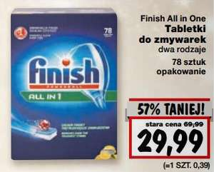 Finish All in 1 - 78 szt. za  29,99zł @ Kaufland