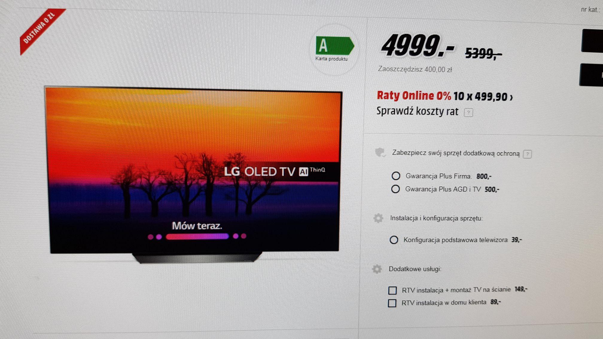 Telewizor LG OLED55B8PLA