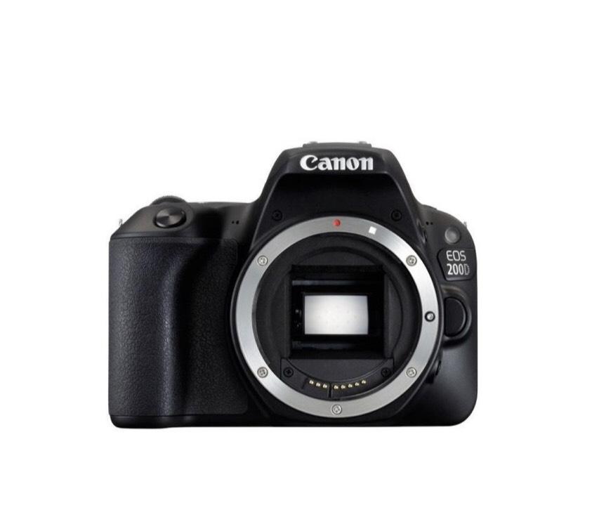 Canon body Eos 200 D + obiektyw 18-135mm za 1zl