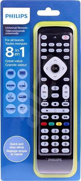 Pilot Philips SRP2018 8w1 do telewizora, DVD, innych urządzeń, hipermarket bi1 Białystok