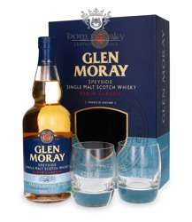 Dni Whisky Auchan Gdynia - single malt Glen Moray Classic + 2 szklanki (fajny prezent)