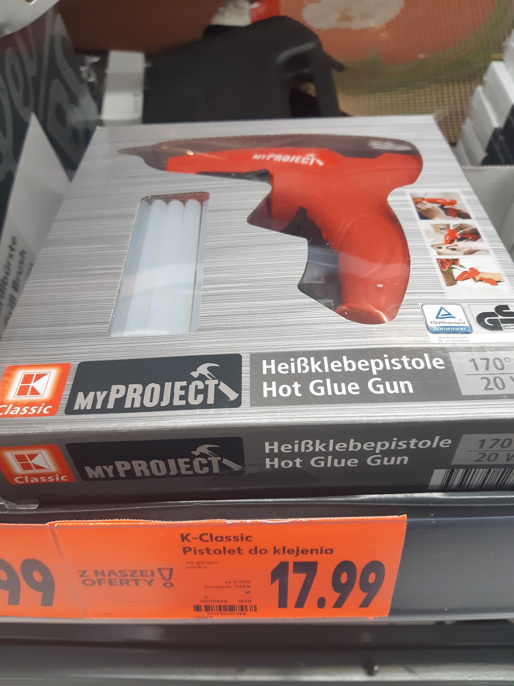 Pistolet do kleju 20W - Kaufland