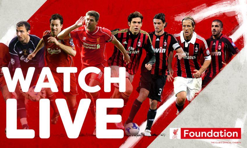 Mecz legend FC Liverpool - AC Milan za darmo i na żywo