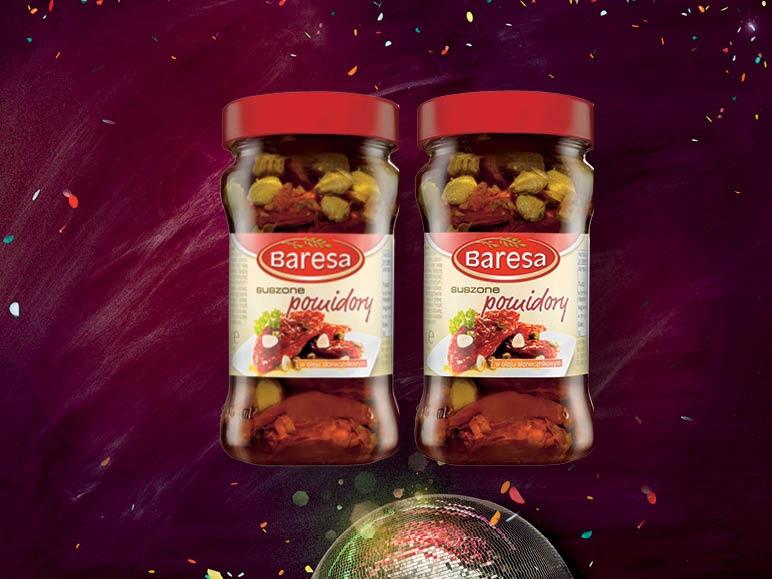 Suszone pomidory - dwa słoiki za 9zł @ Lidl
