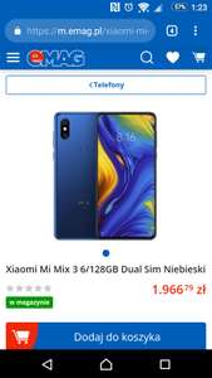 Xiaomi Mi Mix 3 z eMAG