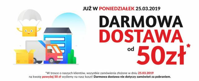 Apteka Nowa Farmacja DARMOWA DOSTAWA! od 50 zł Tylko przez 24h 25.03.2019