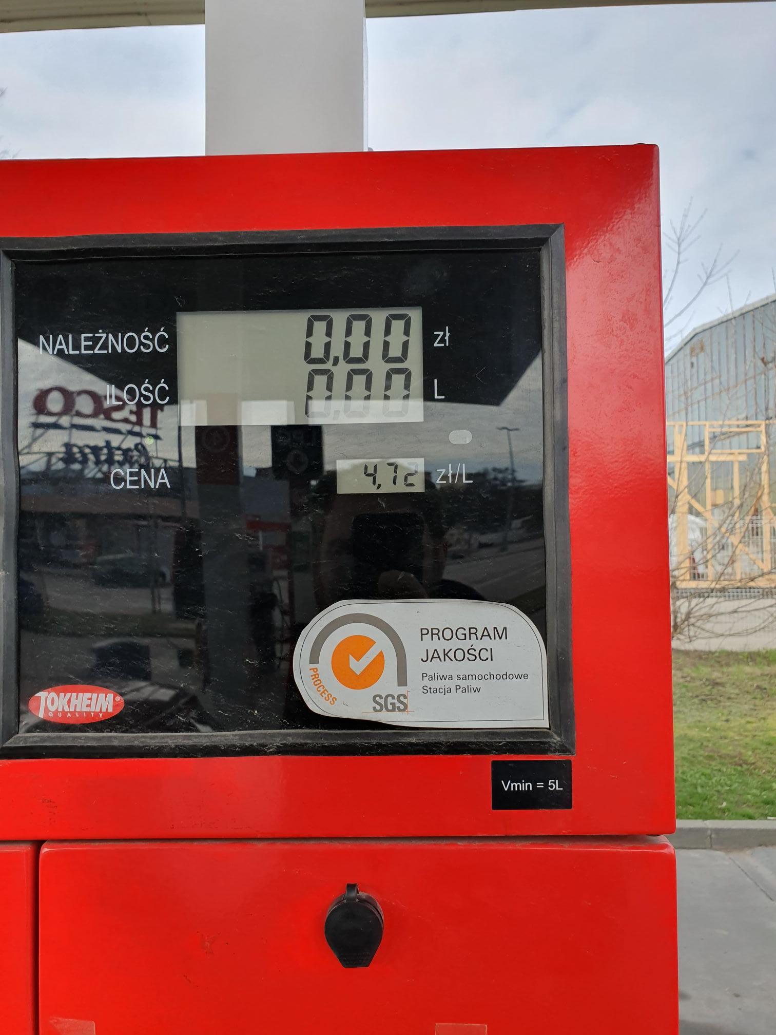 Diesel / benzyna Carrefour Szczecin Mieszka I