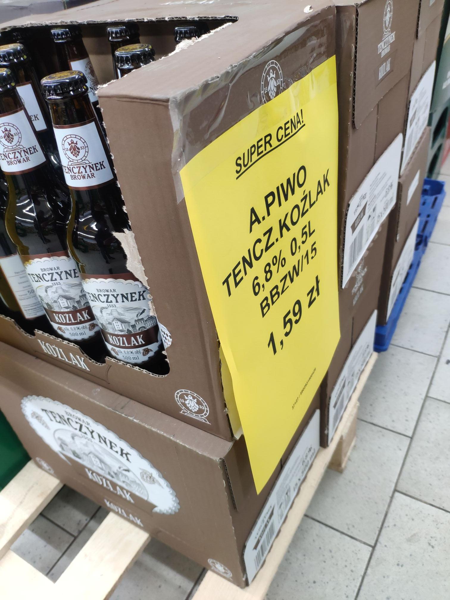 Piwo Tenczynek Koźlak 6,8%