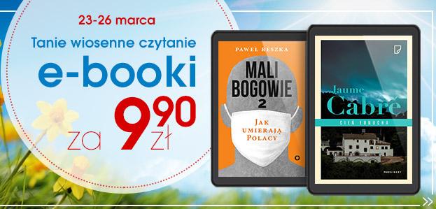 Ebooki za 9,9 zł @swiatksiazki.pl