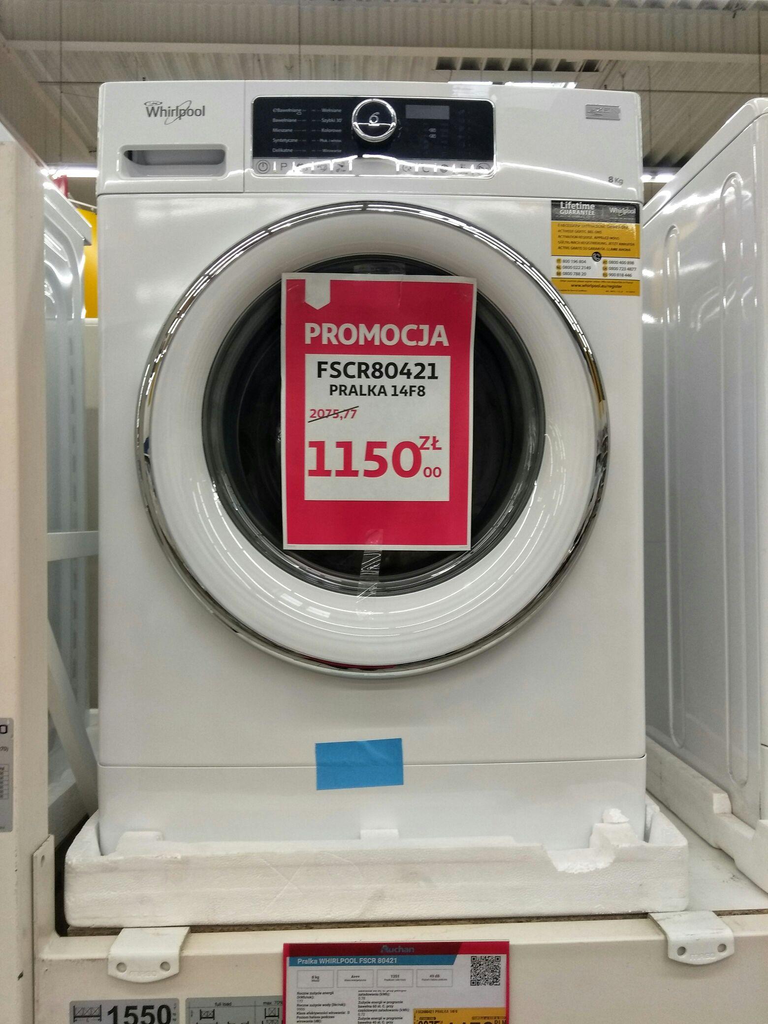 Pralka Whirlpool FSCR80421 @ Auchan (Łódź)