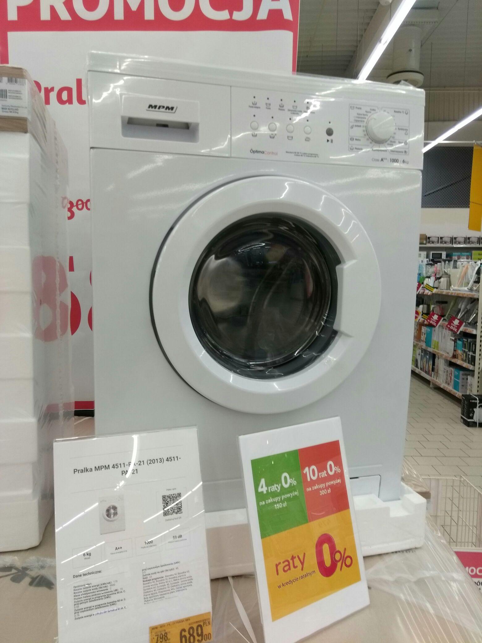 Pralka MPM 4511-PA-21 @ Auchan (Łódź)