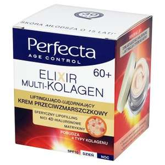 -74% Perfecta Age Control Elixir Multi-Kolagen 60+ Krem przeciwzmarszczkowy @ Tesco