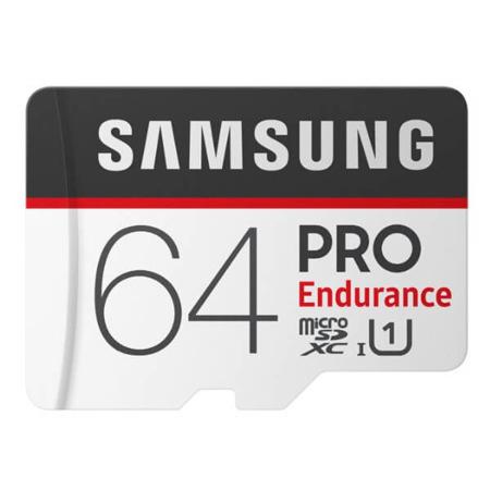 Karta MicroSD Samsung PRO Endurance 64GB (MLC) + adapter - dostawa kurierem gratis. (Możliwe 88.90)