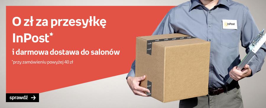 Darmowa dostawa InPost w Empik.com - MWZ 40zł