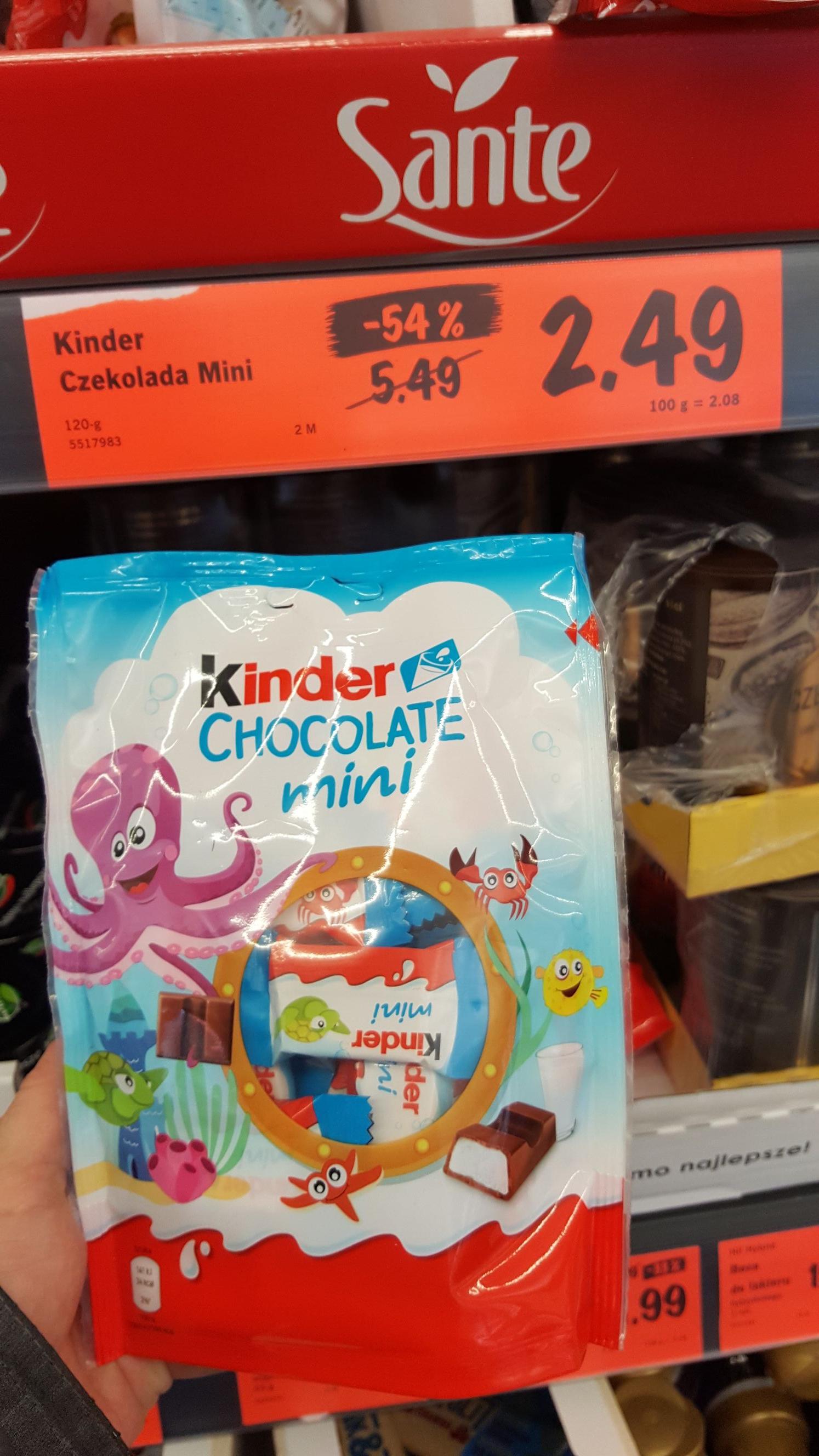 @Lidl Kinder chocolate mini 120g