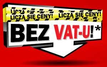 RTV, AGD, Komputery bez VAT-u w MediaMarkt