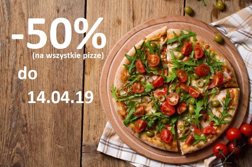 Telepizza - 50% | Warszawa, Kraków, Gdańsk, Wrocław | Online