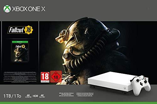 Konsola Xbox One X Fallout 76 + GoW4 + Halo 5 + Rare Replay amazon.es